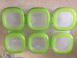 Oxo tot freezer storage baby food