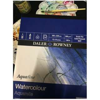 DALER ROWNEY Aquarelle Watercolour