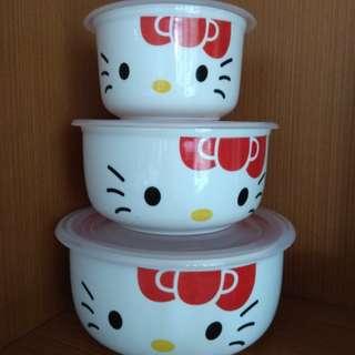 Mangkuk keramik set