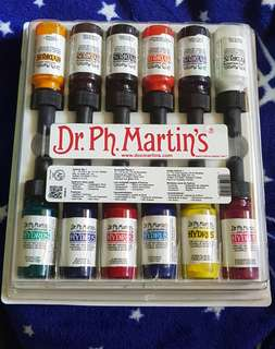 Dr.ph.martins hydrus watercolor set of 12