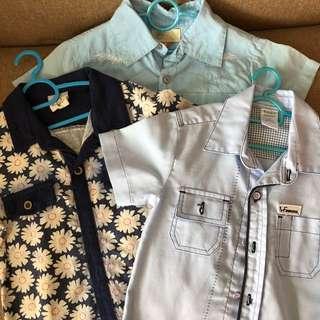Buy 2 Free 1 more - Bundle Sale for Boy Shirts
