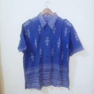 Batik Biru