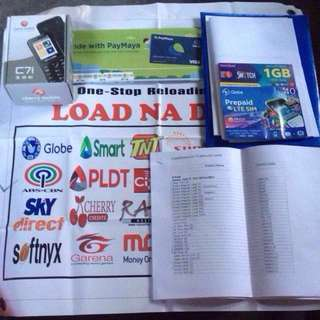 E-Loading Business 1 Sim 1Phone Load All Network