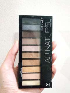 Au naturel eyeshadow