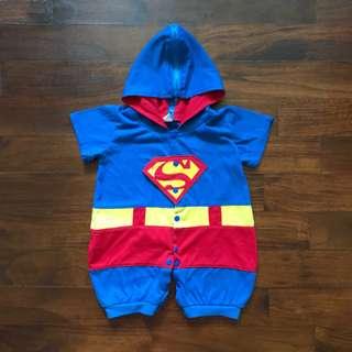 Baby Character Bodysuits - Superman