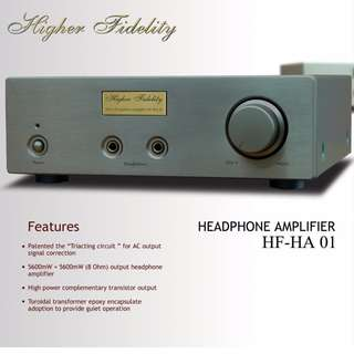日本HIGHER FIDELITY Audio Technica 铁三角 梵音 HA01耳放