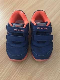Dr Kong toddler shoes rubber sole size 25