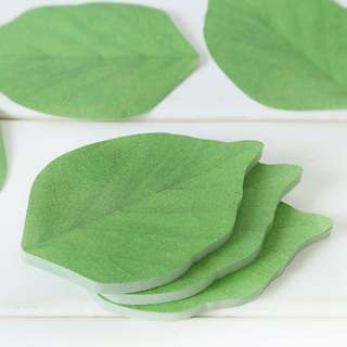 Sticky Note (Green Leaves) (Ref No.: 156)