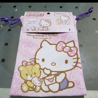 Hello kitty drawstring
