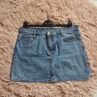 Denim Skirt/Bandage Skirt/Gathered Skirt/Leather Pants