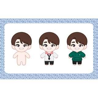 WONWOO - 20cm Wonu doll