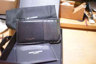 Saint Laurent Zip Pouch Card holder ysl