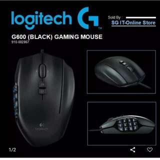 Logitech G600 Gaming Mouse[Used]