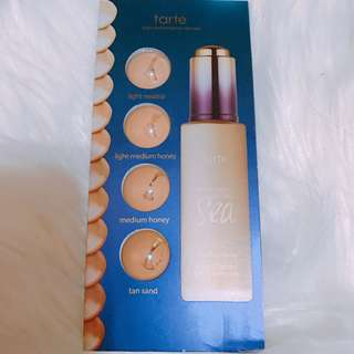 Tarte water foundation sample