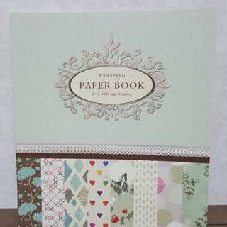 Wrapping Paper Book (Vintage)
