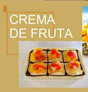 Refrigerated Graham Cake (Crema de Frutta)