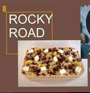 Refrigerated Graham Cake (Rocky Road)