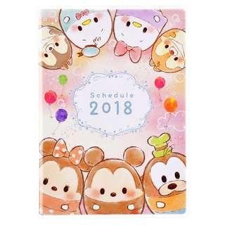 Disney Tsum tsum 日記本 行程表 scheudle book