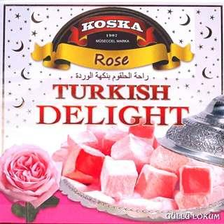 Koska turkish delight rose