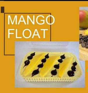 Refrigerated Graham Cake ( Mango Float)