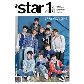 [Pre-Order] @star1 April (Cover: Wanna One)