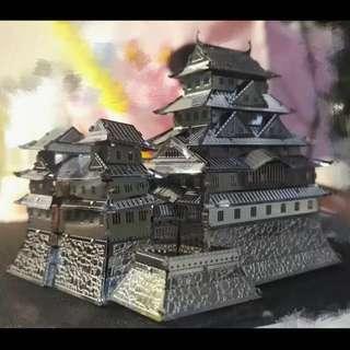 3D Metal model - Himeji Castle