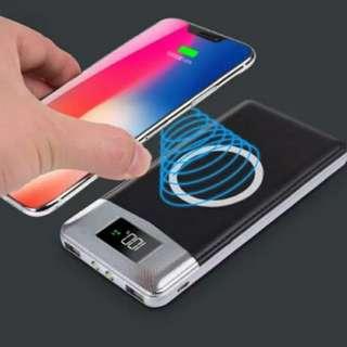 Wireless Qi Powerbank for iphone, Samsung, Lexus