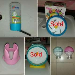 Brand New And Preloved Hamster Items
