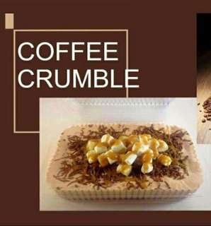 Refrigerates Graham Cake (Coffee Crumble)
