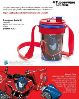 Transformer - Optimus&Bubble Bee Bottle (1)
