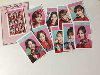 [Readystock] TWICE SET (Photocard + Photobook)