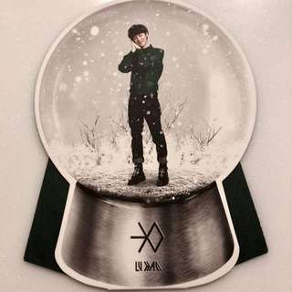 鹿晗 LUHAN Miracles in December 小卡