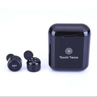 Flash deal🔥Newest X3T TWS Wireless Bluetooth 4.2 Headset Earphone wtih Charger Box Bass,