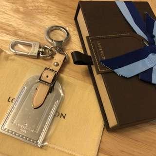 LV 全新 行李牌 鎖匙扣