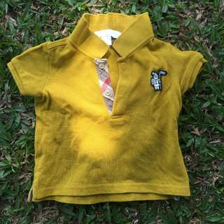 Burberry Original Baby Shirt