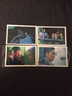 Bn Chungking Express post cards postcards Wong Kar Wai