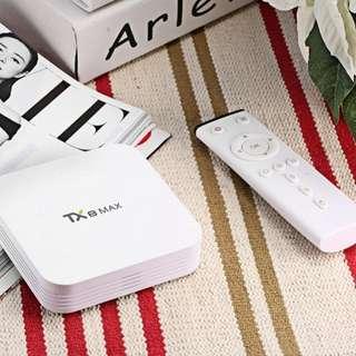 8 core 4k Android TV Box Tanix Tx8 max