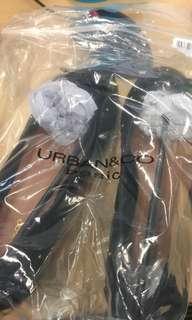 Flatshoes black Urban&Co