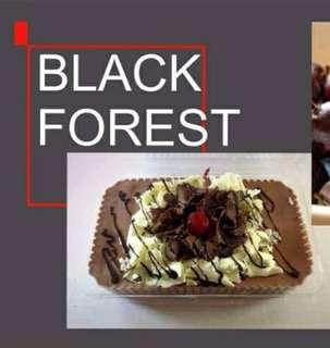 Refrigerated Graham Cake (Black Forest)
