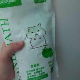 小寵物 倉鼠浴沙 2kg 蘋果香