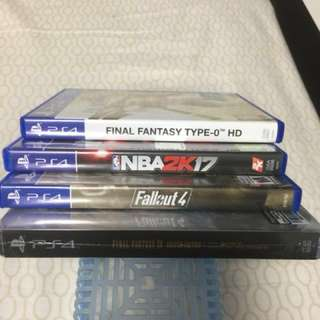 Ps4 games @$18