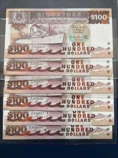 Ship series $100 (6 runs)
