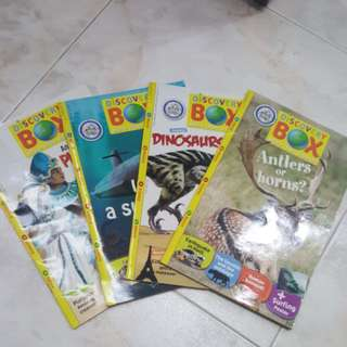 Discovery Box Magazines