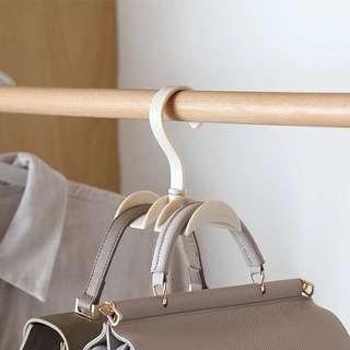 衣櫃包包收納架 多功能領帶架子 免釘掛架