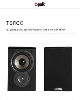 Polk Audio TSi100 shelf speakers