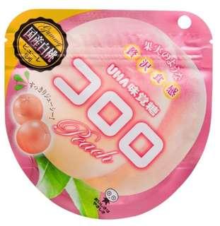 UHA味覺100%果汁糖白桃味 40G