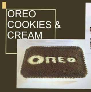 Refrigerated Graham Cake (Oreo Cookies & Cream)