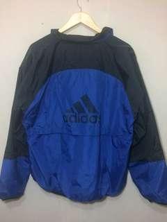 Adidas Windbreaker Jacket 3 stripes logo