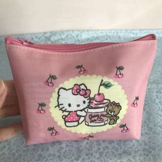Hello Kitty Limited Design Tokyo Japan Cherry Pouch