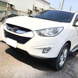 【購車無負擔‧買車夠保障】HYUNDAI 2014年 IX35 豪華型 2.0白  服務實在 值得信賴